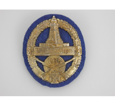 """Arm Shield Kyffhäuserbund """"Wettkampfsieger 1938"""""""