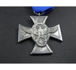 Medalla por largo servicio en la Policia Alemana 18 años de Servicio