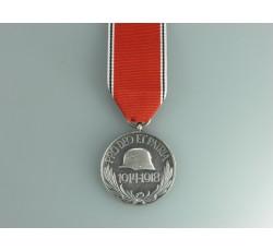 PRO DEO ET PATRIA 1914-1918  für Frontkämpfer, Stahlhelm