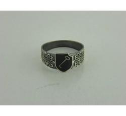1st SS Panzer Division Leibstandarte SS Adolf Hitler Silver Ring