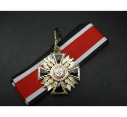 Deutscher Orden des Großdeutschen Reiches Halskreuz mit schwerten