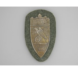 N.S.D.A.P. NURNBERG 1929 Party Shield