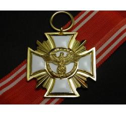 NSDAP Long Service Award (NSDAP-Dienstauszeichnung) 1st Class for 25 Years