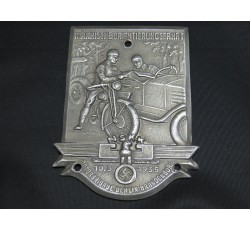 Plaque the NSKK Motorcycle Brigade Nordmark