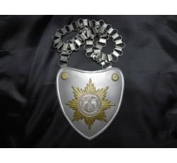 WWII GERMAN POLICE FELDGENDARMERIE GORGET BREASTPLATE
