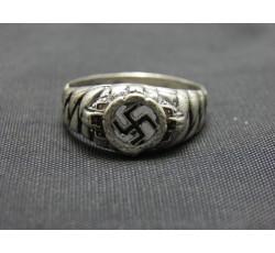 SS-Junkerschule Bad Tölz Officers' Training School Silver Ring