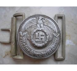 WW2 GERMAN WAFFEN SS OFFICER'S BELT BUCKLE