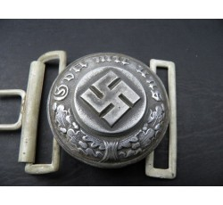 WW2 GERMAN ARMY MILITARY POLICE OFFICER'S BELT BUCKLE