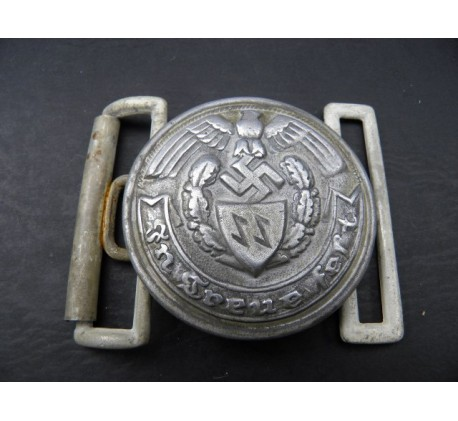 WW2 GERMAN WAFFEN SS OFFICER'S BELT BUCKLE