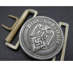 WW2 GERMAN DEUTSCHE REICHSBAHN OFFICER'S BELT BUCKLE