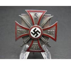 Regimentskreuz des 5. Don Kosaken Reiterregiments 1941