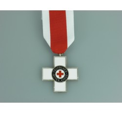 "WW2 German RED CROSS badge 1'st class ""pin-back"" type"