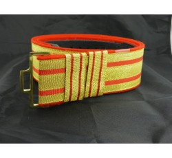 WW2 Wehrmacht officer's brocade cloth belt