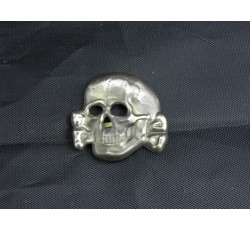 Waffen SS Death Head Cap Badge